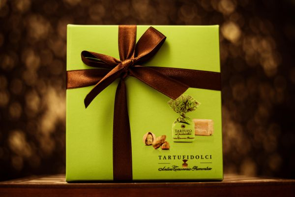 Antica Torroneria Tartufi Dolci Pistac. Box Colore