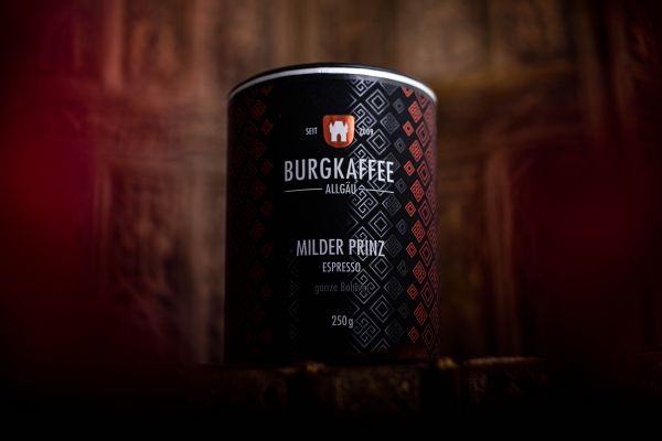 """Burgkaffee Espresso """"Milder Prinz"""""""