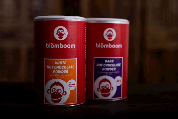BLÖMBOOM DARK HOT CHOCOLATE POWDER BIO