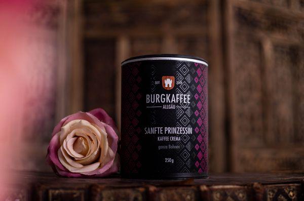 """Burgkaffee Kaffee Crema """"Sanfte Prinzessin"""""""